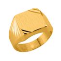 Chevalières en or