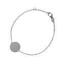 Bracelet chaîne fine / gourmette de baptême